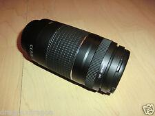Canon EF 75-300 mm f/4-5.6 af III objetivamente, nuevo, 2 años de garantía