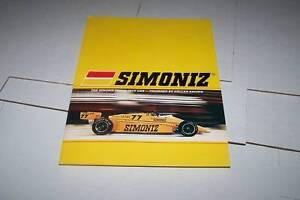 1980s AL UNSER JR - CAR RACING PRESS KIT