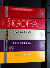 10 x Schwarzkopf Igora Royal Permanent Hair Color 60ml(Any Color)