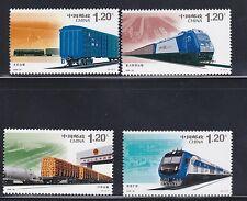 China 2006-30 Harmonious Railway Construction  和諧鐵路 , Complete 4V  Mint