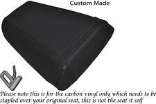 Fibra De Carbono Vinilo Personalizada Para Honda Cbr 600 F 01-03 trasera cubierta de asiento solamente