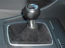 FITS AUDI A4 A6 B6 BLACK PU SUEDE GEAR GAITER 1999-2004