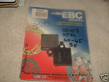New EBC Brake Pad: FA 337X (REAR)