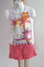 Gymboree Palm Tree Shirt Shorts Tank Mix & Match Girls Size L 10-12 NWT Set
