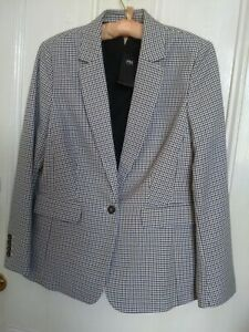 Marks and Spencer Ladies Blazer Tailored Fit size 14 New
