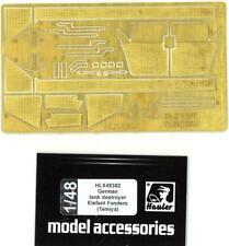 Hauler Models 1/48 ELEFANT TANK DESTROYER FENDERS Photo Etch Detail Set