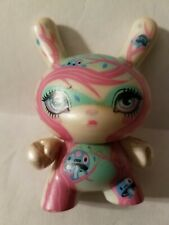 """Rare Kidrobot Dunny 3"""" Series 2011 64Colors Supermagical White Colorway"""