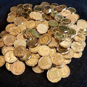 THREEPENCE Coins - Clean Shiny - Best Quality - Bulk Job Lot