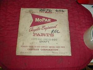 NOS MOPAR 1960-2 PLYMOUTH DODGE A BODY CHRYSLER D880 SPEEDOMETER CABLE SHAFT