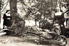 WW2 - La Lucerne d'Outremer 31.7.44 - Carmélites et paras allemands blessés