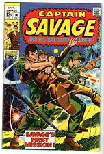 Captain Savage and His Battlefield Raiders #14, Fine Condition