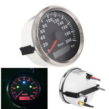85mm ATV Motorcycle GPS Speedometer 200 km/h Waterproof w/ Odometer Indicator 1x