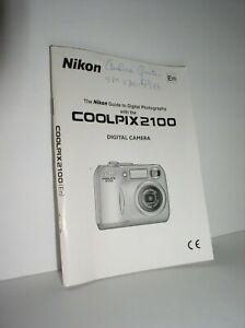 Nikon COOLPIX2100 Digital Camera Guide (SB3J16000702 (11)