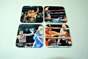 Carl Froch WBA and IBF Super-Middleweight Champion COASTER Set