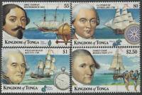 Tonga 1999 SG1448-1451 Early Explorers set MNH