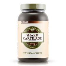 GNC Natural Brand Shark Cartilage 750 mg 180 tablets