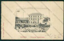 Vicenza Città Stazione Tramviaria cartolina VK2090