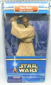 2002 Star Wars Attack of the Clones Mace Windu 10-Inch Collectible Figure