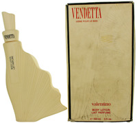 Vendetta by Valentino For Women Body Lotion 5oz Damaged box New