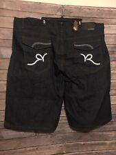 Rocawear Shorts Mens Size 52B Blue Dark Wash NWT