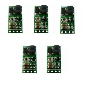 5x DC 3.3V 3.7V 5V to 6V 9V 12V Adjustable Boost Voltage Regulator Power supply