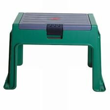NEW Useful 3 In 1 Green Padded Cushion Garden Kneeler Seat & Storage - Free P&P