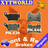 FRONT REAR Brake Pads YAMAHA XT 660 X Supermoto 2004-11 2012 2013 2014 2015 2016