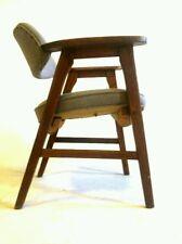 +6 Vintage Gunlocke MidCentury Danish Clam Chair Office Cantilever Atomic Dining