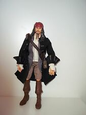 "CAPTAIN JACK SPARROW 12"" DOLL DISNEY PIRATES CARIBBEAN DEAD MAN'S CHEST"