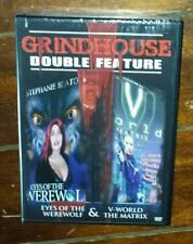 Grindhouse Double Feature: Eyes of the Werewolf/V Word the Matrix (2004, DVD)