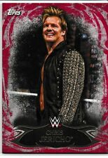 Chris Jericho 2015 Topps WWE Undisputed Red Card # 35 Y2J Fozzy