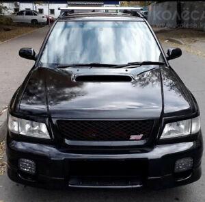 For Subaru Forester Turbo SF 1997-2000 Headlight Eyelashes Eyebrows Eyelids