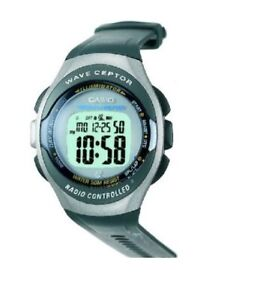 Casio WV-50H-8 Wave Ceptor Radio Controlled Digital Watch WV-50 Vintage 50M WR
