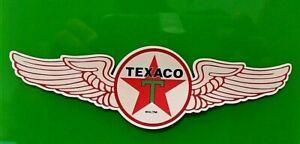 TEXACO Sticker Decal VINYL Garage Promo Service Station OIL PETROL USA RETRO