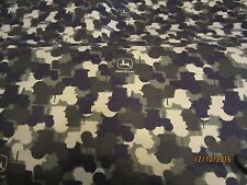 John Deere  baby toddler sheets set  tractors & camo  flannel camouflage