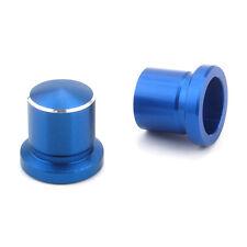 2x Dustproof Shock Absorber Screws Cap Cover Blue For Mazda 5 6 MX-5/MX-6/RX-7