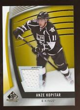 2017-18 SP Game Used Gold #7 Anze Kopitar Jersey Relic KINGS