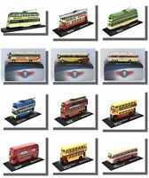 Trolleybuses, Coaches, Trams, Buses, Atlas 1/76 Scale, New
