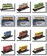 Model Trolleybuses, Coaches, Trams, Buses, Atlas 1/76 Scale, New