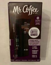 Electric Coffee Bean Grinder - Black - Mr. Coffee, IDS77 - Pre-owned