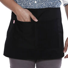 Restaurant Cafe Aprons Waitress Cafe Bar Pub Waiters Short Waist Apron