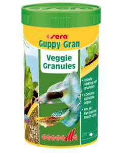Sera Guppy Granules - Guppy Gran Veggie Granules - 48g