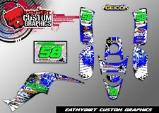 Familia Drx 50 70 90 2005-2012 gráficos personalizados Kit Mx pegatinas Motocross Atv calcomanías