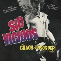 Sid Vicious - Chaos and Disorder Tapes (2008) Brand new and sealed