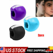 3x Jawline Exerciser Jawlineme Exercise Fitness Ball Neck Face Jawzrsize Jaw