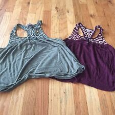 Cape Juby Aero Womens Crop Tank Top Lot Of 2 Summer Size XS Excellent