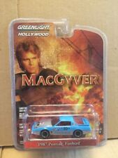 Greenlight Hollywood Diecast -MacGyver - 1987 Pontiac Firebird 1:64