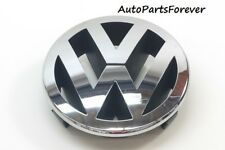 VW Passat B6 Touareg Golf Plus Touran Logo Front Grille Emblem Chrome 130mm