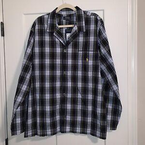 Polo Ralph Lauren Sleep Pajama Shirt Gown Nightshirt NWT L