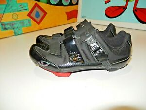 Giro Solara 2 11. Woman's Cycling Shoes Size 7 or  38.5 .Black use 1  time